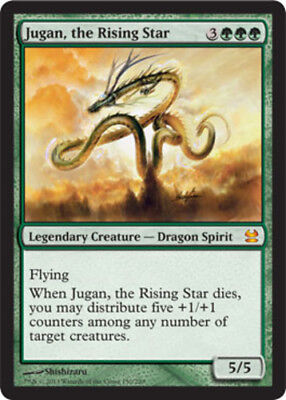 Jugan, the Rising Star, Moderate Play, English, Modern Masters MTG, used for sale  Shipping to South Africa