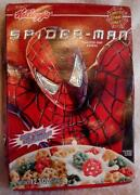 Spiderman Cereal Box
