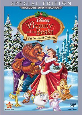 Beauty and the Beast: The Enchanted Christmas Special Edition DVD + Blu-Ray