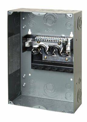 Homeline 100 Amp 6-Space 12-Circuit Indoor Surface Mount ...