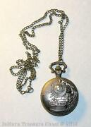 Locomotive Pocket Watch