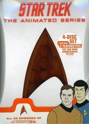 Star Trek  The Animated Series  4 Discs  Dvd Region 1