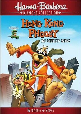 Hong Kong Phooey Complete Series New 2 Dvd Set Hanna Barbera Diamond Collection