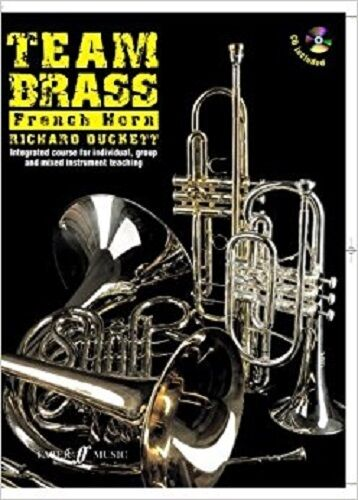 Team Brass - French Horn (Book & CD)