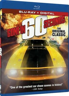 GONE IN 60 SECONDS THE ORIGINAL 1974 CLASSIC New Sealed Blu-ray