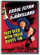 They Died with Their Boots on DVD