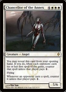 MTG 4x Chancellor of the Annex New Phyrexia x4 Magic