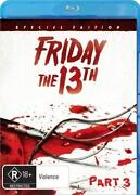 Friday The 13th Part 3 Blu Ray