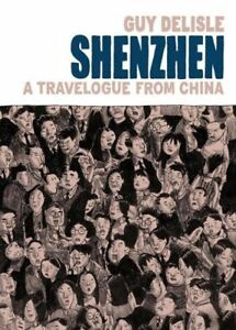 Guy Delisle-Shenzhen-Travelogue of China-Hard Cover Edition +