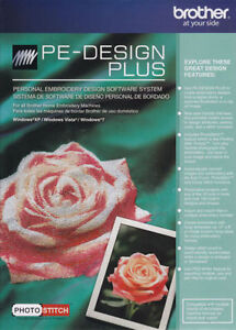 Brother PE-Design Plus Embroidery Softwarre