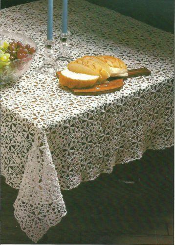 Crochet Tablecloth Patterns Ebay