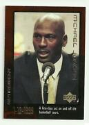 Michael Jordan Upper Deck