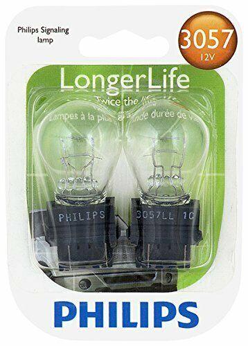 Philips 3157LLB2 Longer Life Miniature Bulb, 2 Pack