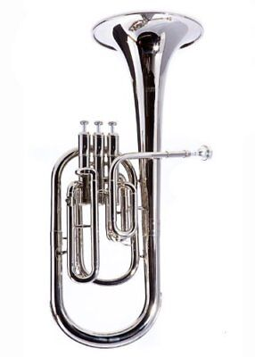 Alto Horns Charitable Yamaha Alto Horn Yah-203s Eb Silver Plated Finish Yah203s Professional New Musical Instruments & Gear