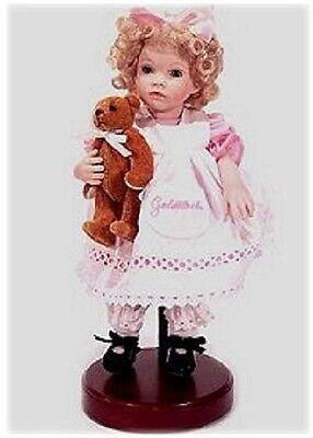 dolls by pauline Goldilocks - limited edition, museum doll 297/3000