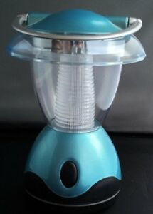 Indoor / Outdoor LED plastic Lantern - Turquoise