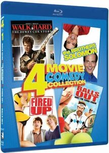 4 Movie/2 Blu-Ray set-Walk Hard,Fired Up,Balls Out,Bros