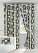 Black and Cream Curtains