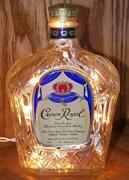 Empty Crown Royal Bottle