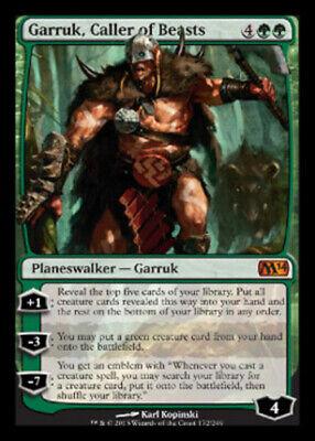 1x MTG Magic 2014 Garruk, Caller of Beasts, Light Play, (Magic The Gathering Garruk Caller Of Beasts)