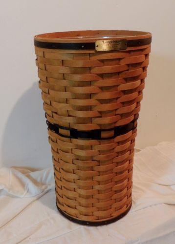 Longaberger Umbrella Basket Ebay