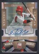 Donruss Elite Status Auto