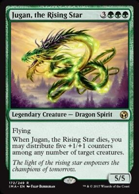 1x Jugan, the Rising Star MTG Iconic Masters NM Magic Regular  for sale  Shipping to South Africa