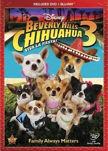Beverly Hills Chihuahua 3 (Two-Disc Blu-ray/DVD Combo)