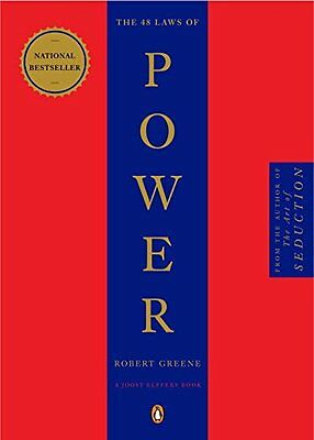 The 48 Laws Of Power  By Robert Greene  Paperback 2000  New  Free Shipping