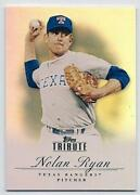 2012 Topps Tribute Nolan Ryan