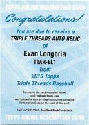 Evan Longoria Baseball Cards