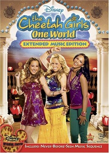 Cheetah Girls: One World [Extended Music Edition] [With Tattoos] (2008, DVD NEW)
