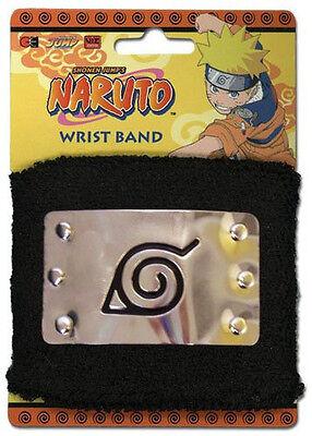 *NEW* Naruto: Konoha Plate Logo Sweatband by GE Animation