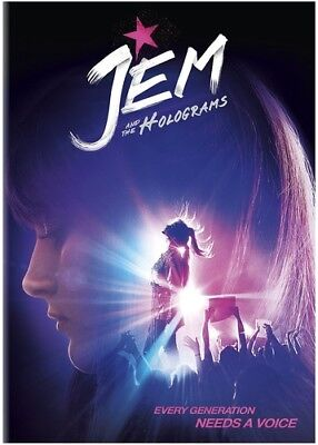 Jem and the Holograms [New DVD]