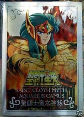 Bandai Saint Seiya Myth Cloth Gold Metal Plate Mat Stand New Aquarius Camus segunda mano  Embacar hacia Argentina