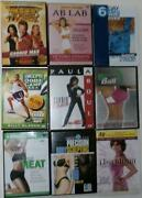 Exercise DVD Lot