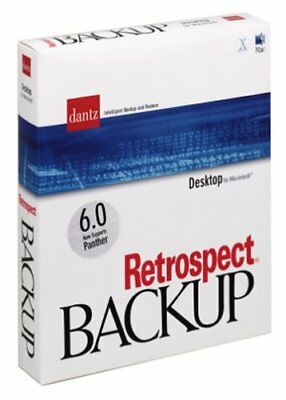 Emc Retrospect 6.0 Desktop Backup Edition (Inklusive 2 Kunden) Notebook -