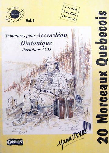 Accordion Diatonic: Collection Of Tablatures: 20 Pieces Quebecers