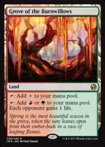 x1 Grove of the Burnwillows MTG Iconic Masters M/NM, English
