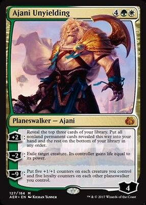 x1 Ajani Unyielding MTG Aether Revolt M/NM, English
