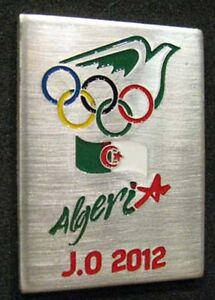 LONDON-2012-Olympic-ALGERIA-NOC-Internal-team-delegation-dated-pin