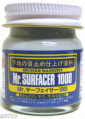 Mr Hobby Surfacer 1000 40ml SF284 Gunze GSI Creos Paint Supply Primer Jar Tool - Hobby Tool Supply