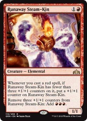 Steam Magic - 4x Runaway Steam-Kin NM-Mint, English Guilds of Ravnica MTG Magic