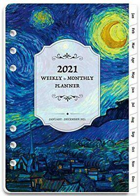 2021 Planner Organizer Weekly Monthly Agenda Schedule Appointment Book