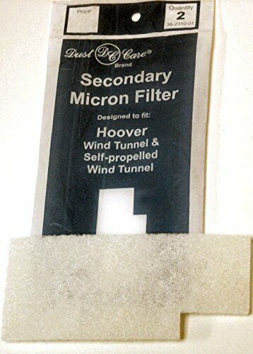 Hoover Windtunnel Vacuum Filter by Dust Care® 2/pk