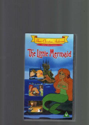 little mermaid video  vhs tapes