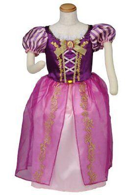 Disney Prinzessin Rapunzel Kleid Kinder Kleinkind Kostüm Halloween Cosplay Neu (Disney Kleinkind Halloween Kostüme)