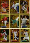 2012 Topps Gold Parallel Lot