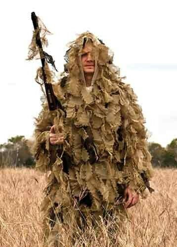 Ghillie Suit 3 pcs ~ Red Rock Big Game ~ OPEN COUNTRY ~ Size XL/XXL