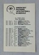 Packers Schedule